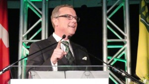 Brad Wall and the Saskatchewan Party have been elected to a third straight majority government.